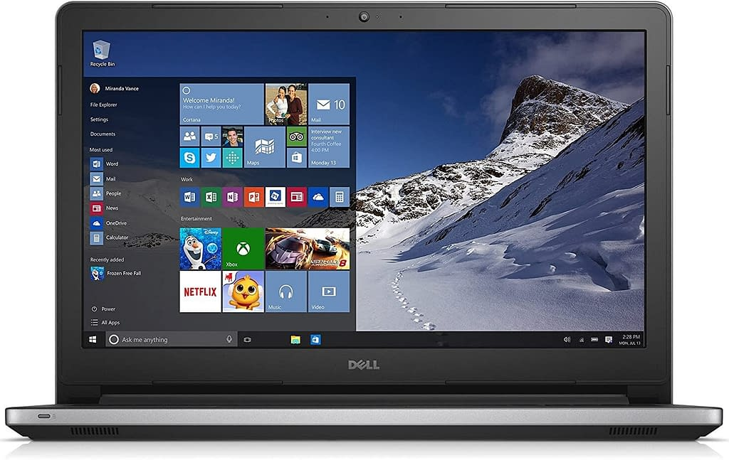 Dell Inspiron 15 5000 Ryzen 5 Quad Core - (8 GB/1 TB HDD/Windows 10 Home) 5575 Laptop