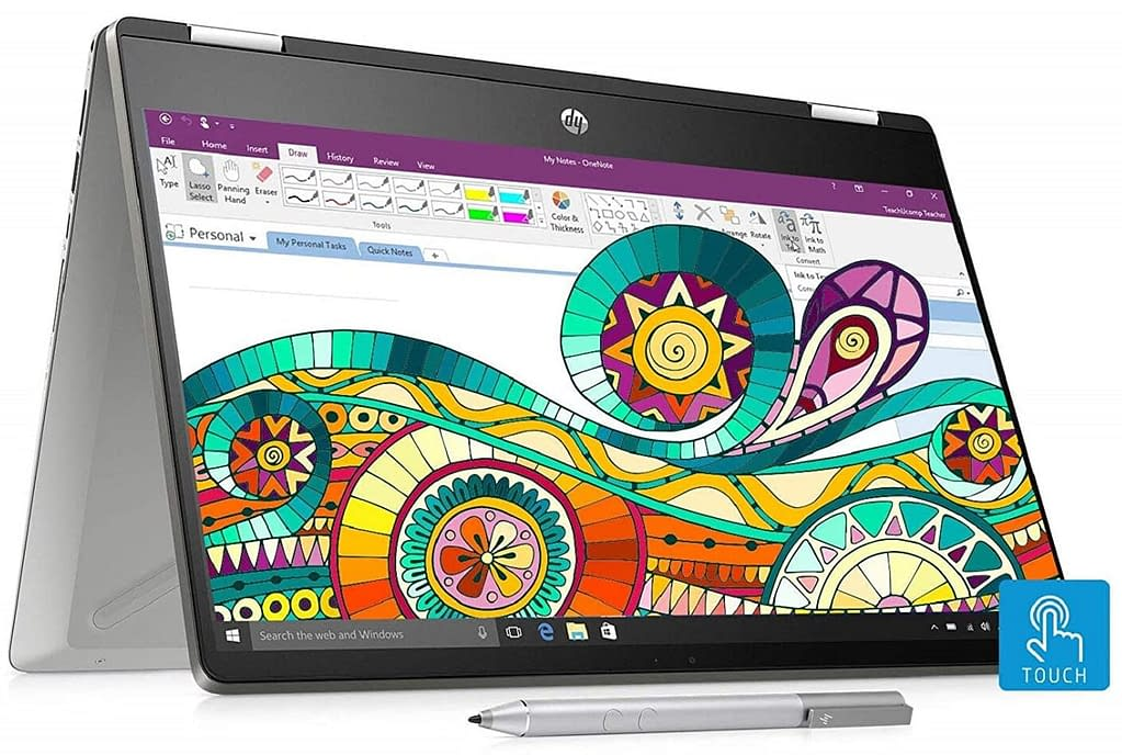 HP Pavilion x360 Core i3 8th Gen - (4 GB/256 GB SSD/Windows 10 Home) 14-dh0107TU 2 in 1 Laptop